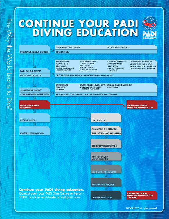 Padi Divemasters And Dive Instructors