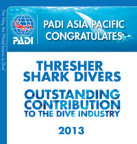 PADI IDC Center award